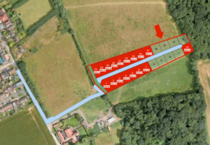 Land at New Farm Drive, Abridge, Epping Forest, Essex, CM16 7NR